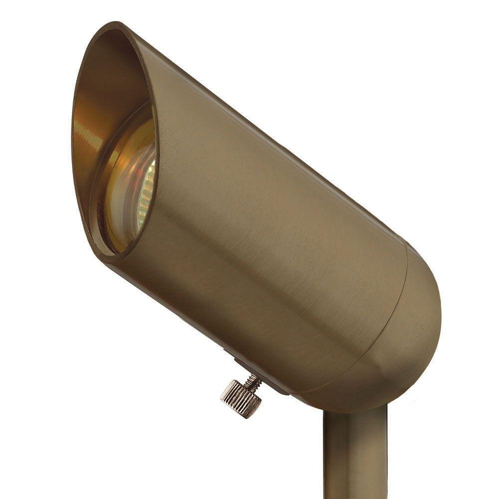 Hinkley Lighting Low-Voltage 50-Watt Bronze Hardy Island Outdoor Spot Light