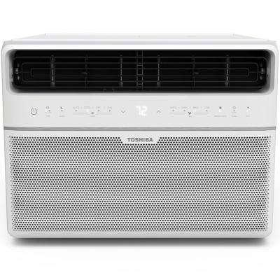 12,000 BTU 115-Volt Smart Wi-Fi Window Air Conditioner with Remote and ENERGY STAR in White