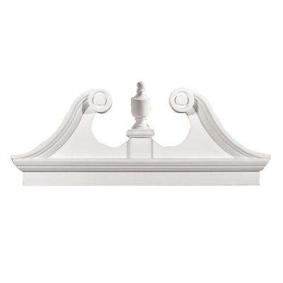 Pediment Moulding Moulding Millwork The Home Depot