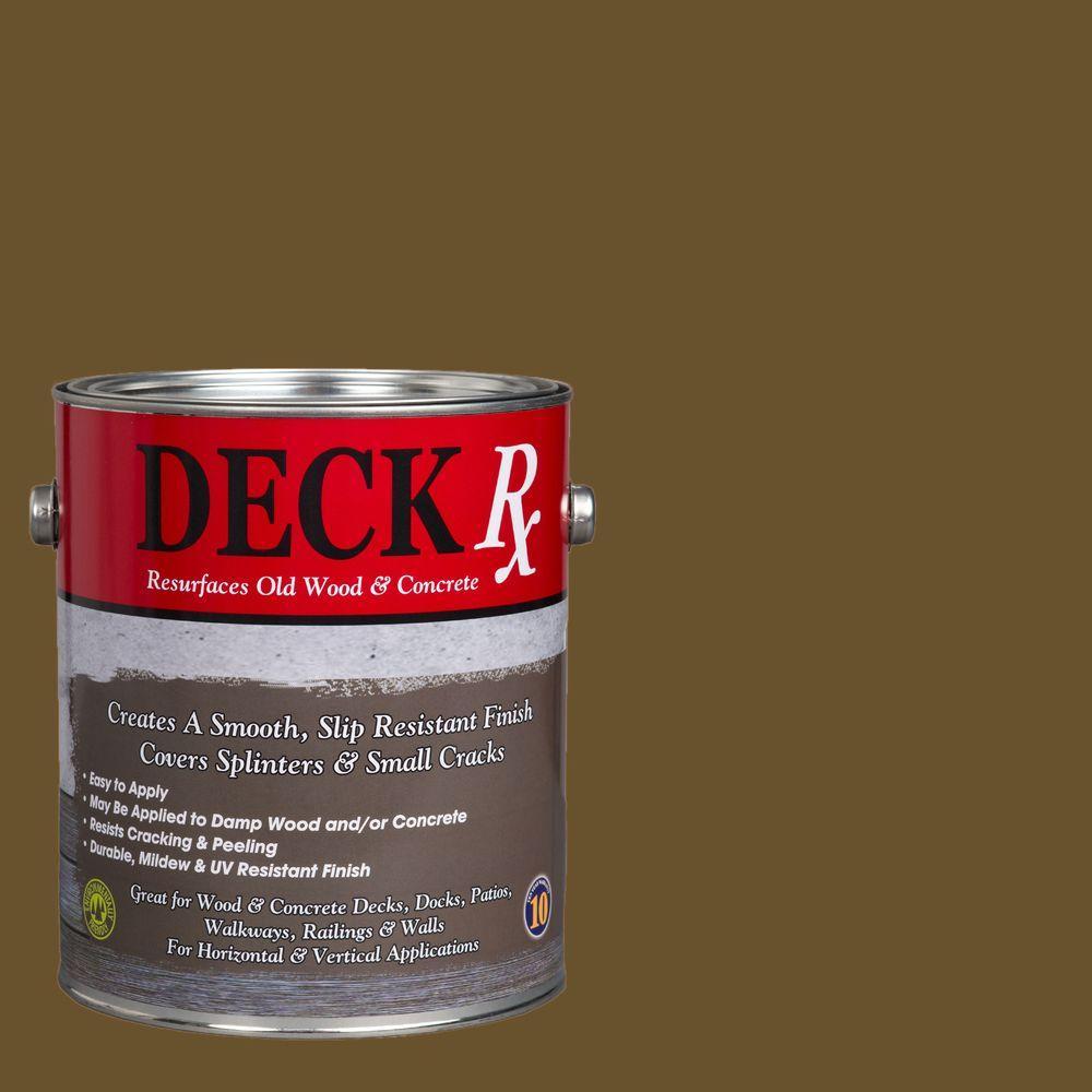 Deck Rx 1 gal. Eucalyptus Wood and Concrete Exterior Resurfacer
