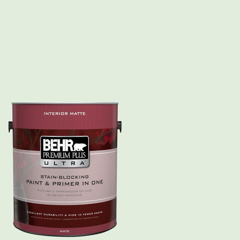 1 gal. #M400-1 Establish Mint Matte Interior Paint