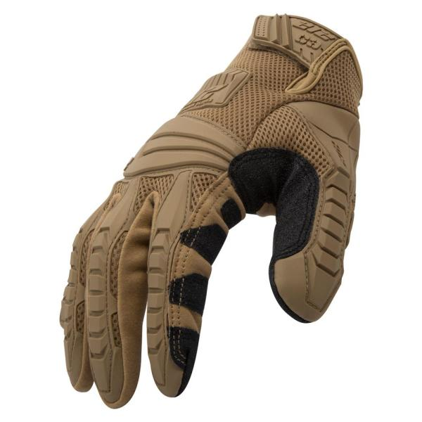 Impact / Cut Resistant Tactical Large Air Mesh Safety Work Glove
