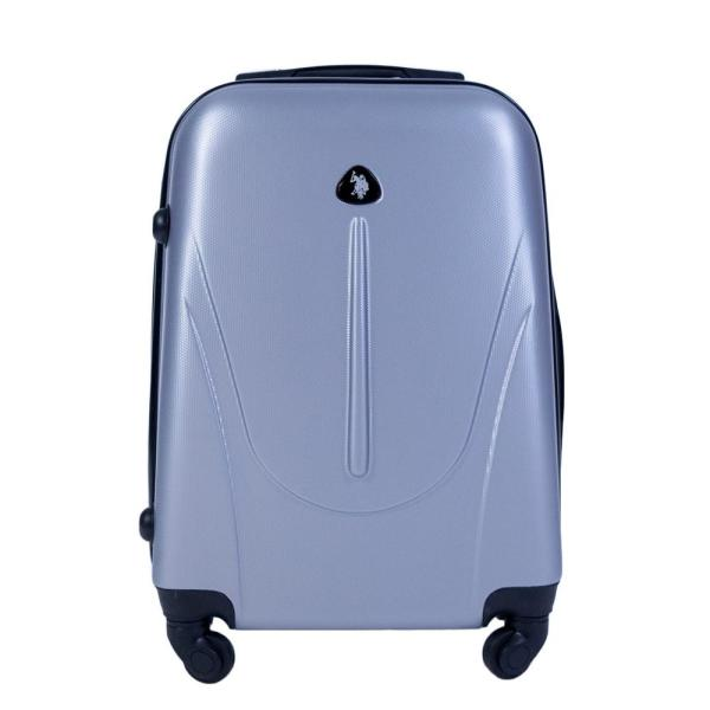 4734cb03384 U.S. Polo Assn. U.S Polo Assn. 21 in. Silver Carry-On Luggage ...