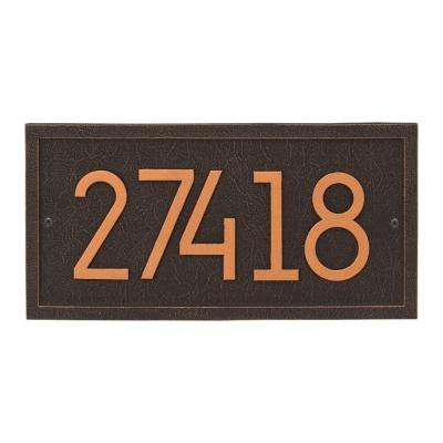 Rectangle Modern Personalized Rectangle Wall Plaque