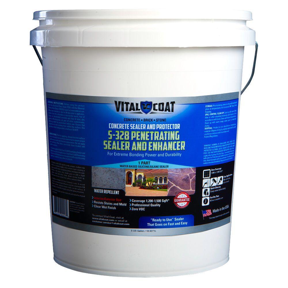 RadonSeal Plus 5 Gal. Deep Penetrating Concrete Sealer For