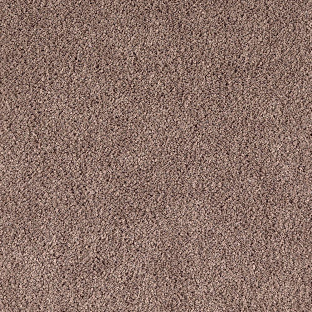 San Rafael II (S) - Color Taupe Whisper Texture 12 ft. Carpet