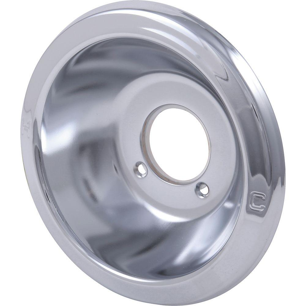 Delta 1-Handle Tub and Shower Deep Escutcheon in Chrome for 600 and 1600 Series