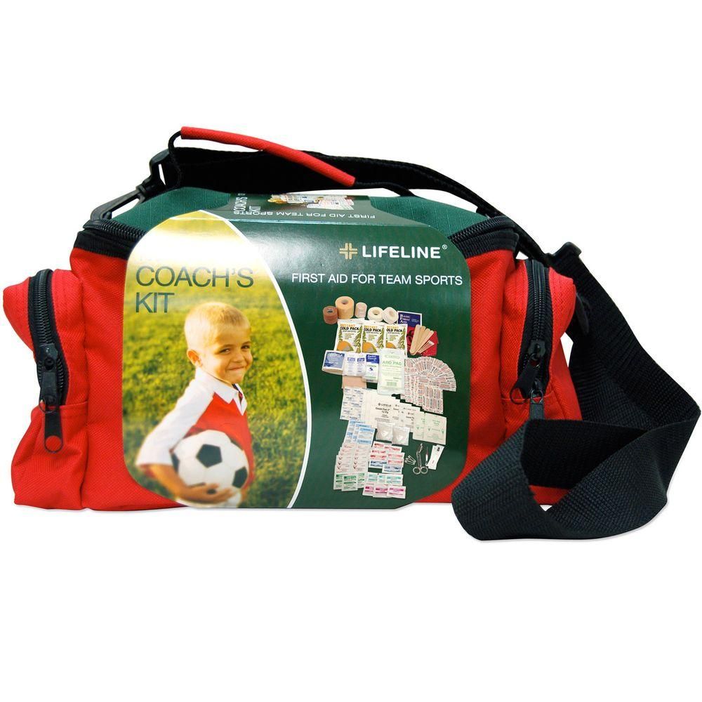133-Piece Team Sports Coach's First Aid Kit