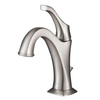 Arlo Single Hole Handle Bathroom Faucet In All Brite Spot Free Stainless