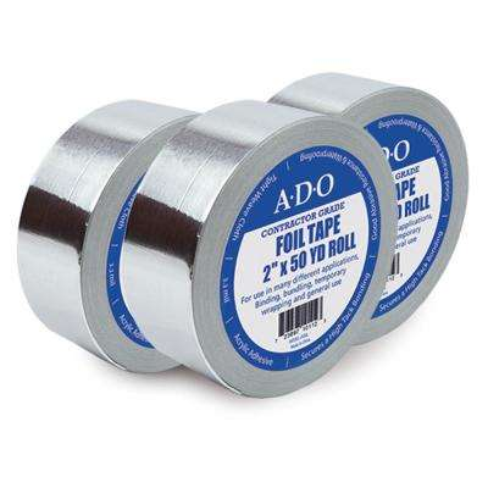 2 in. x 50 yds. Aluminum Foil Tape Roll