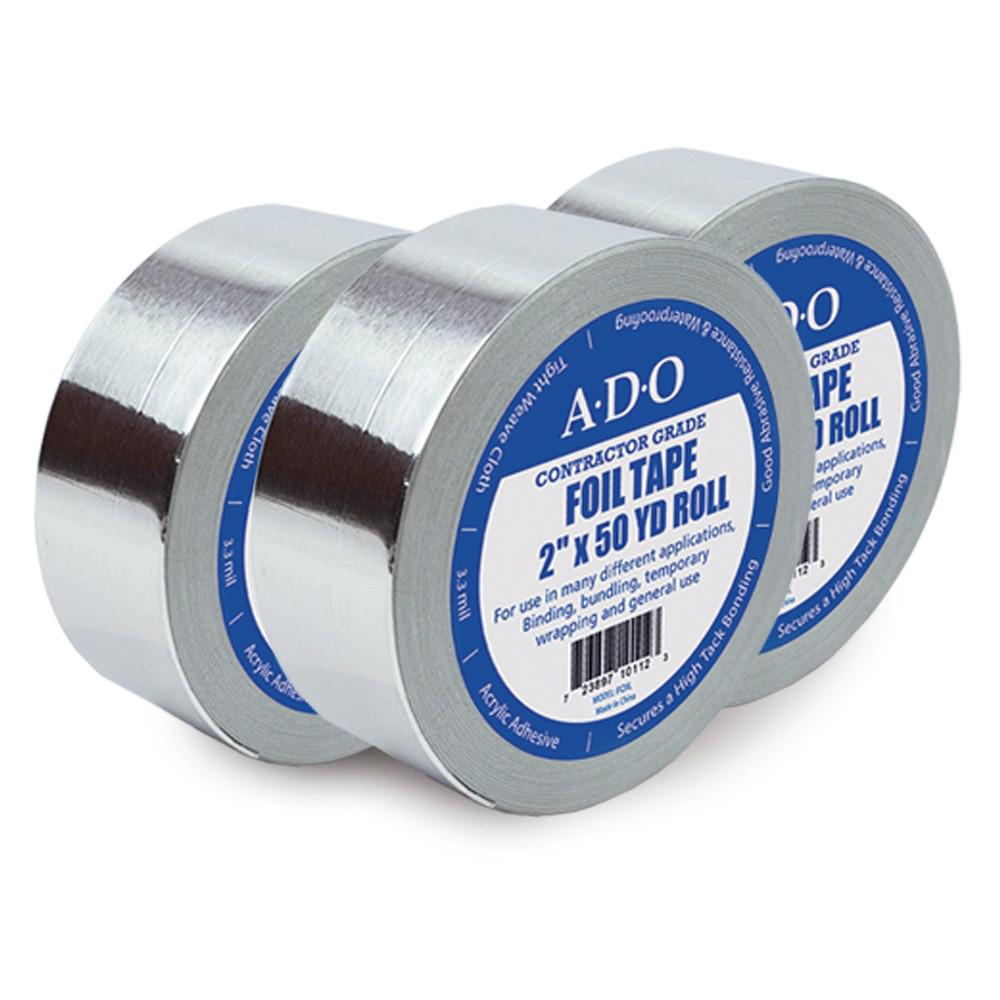 ADO Products 2 in. x 50 yds. Aluminum Foil Tape Roll