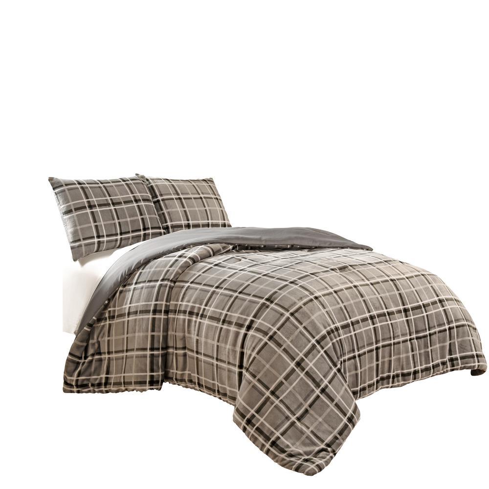 Duvets 7 Piece Casimir Gray Comforter Set Home Furniture Diy Coccinelli De