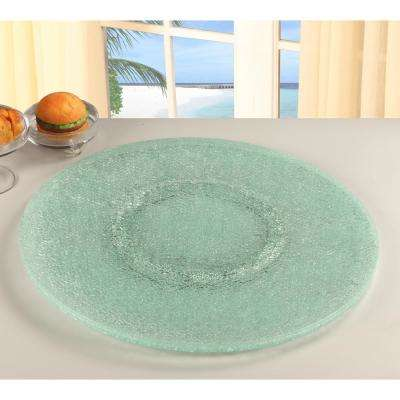 Lazy Susan 24 in. Sandwich Glass