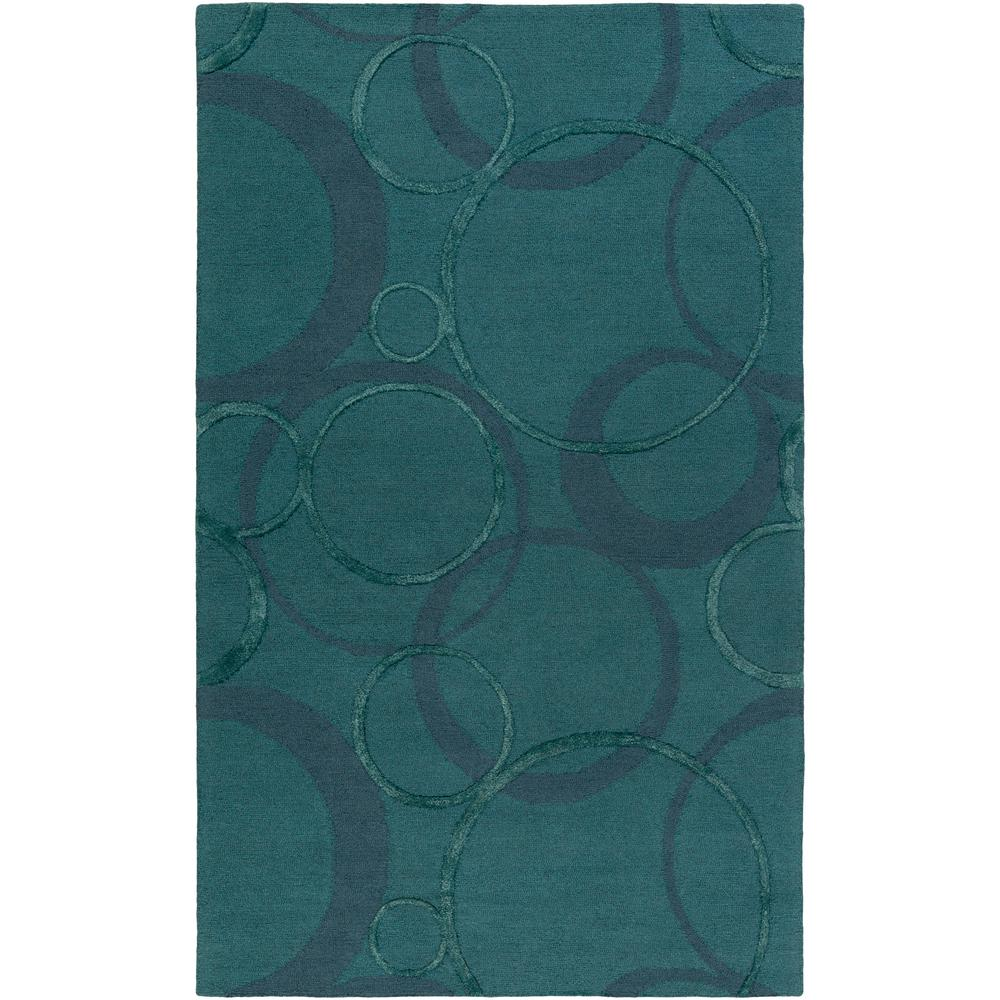 Alexander Ross Teal 4 ft. x 6 ft. Indoor Area Rug