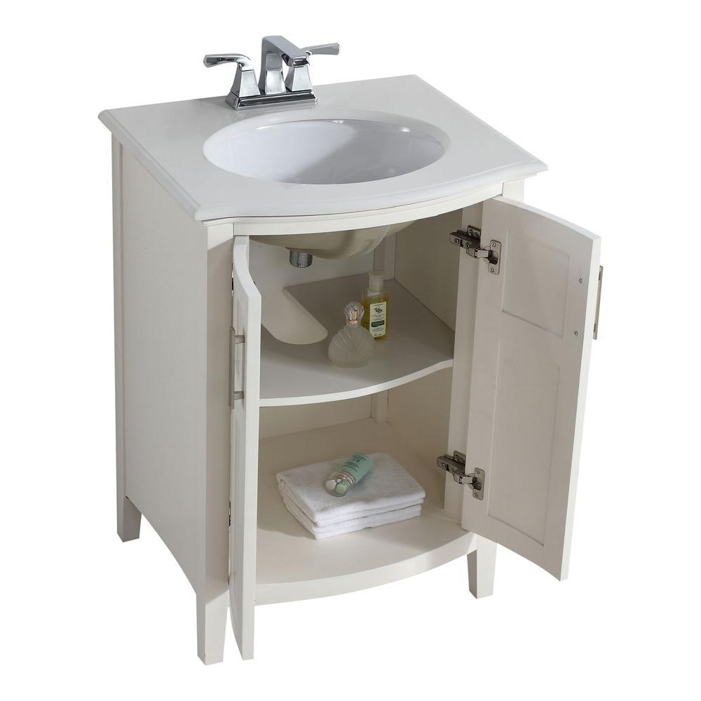 Simpli Home Winston 24 Bath Vanity