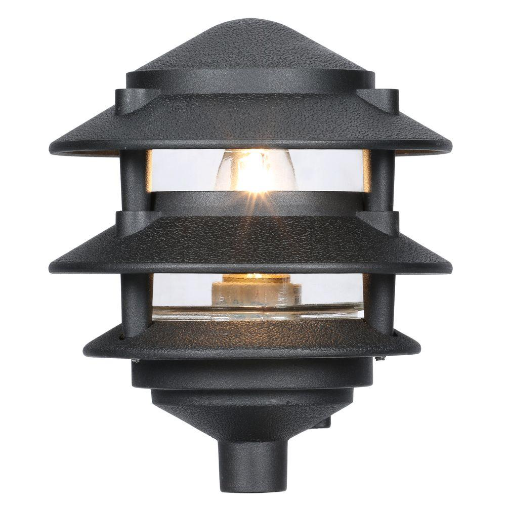 Progress Lighting Black Landscape Pathlight - Progress Lighting Black Landscape Pathlight-P5204-31 - The Home Depot