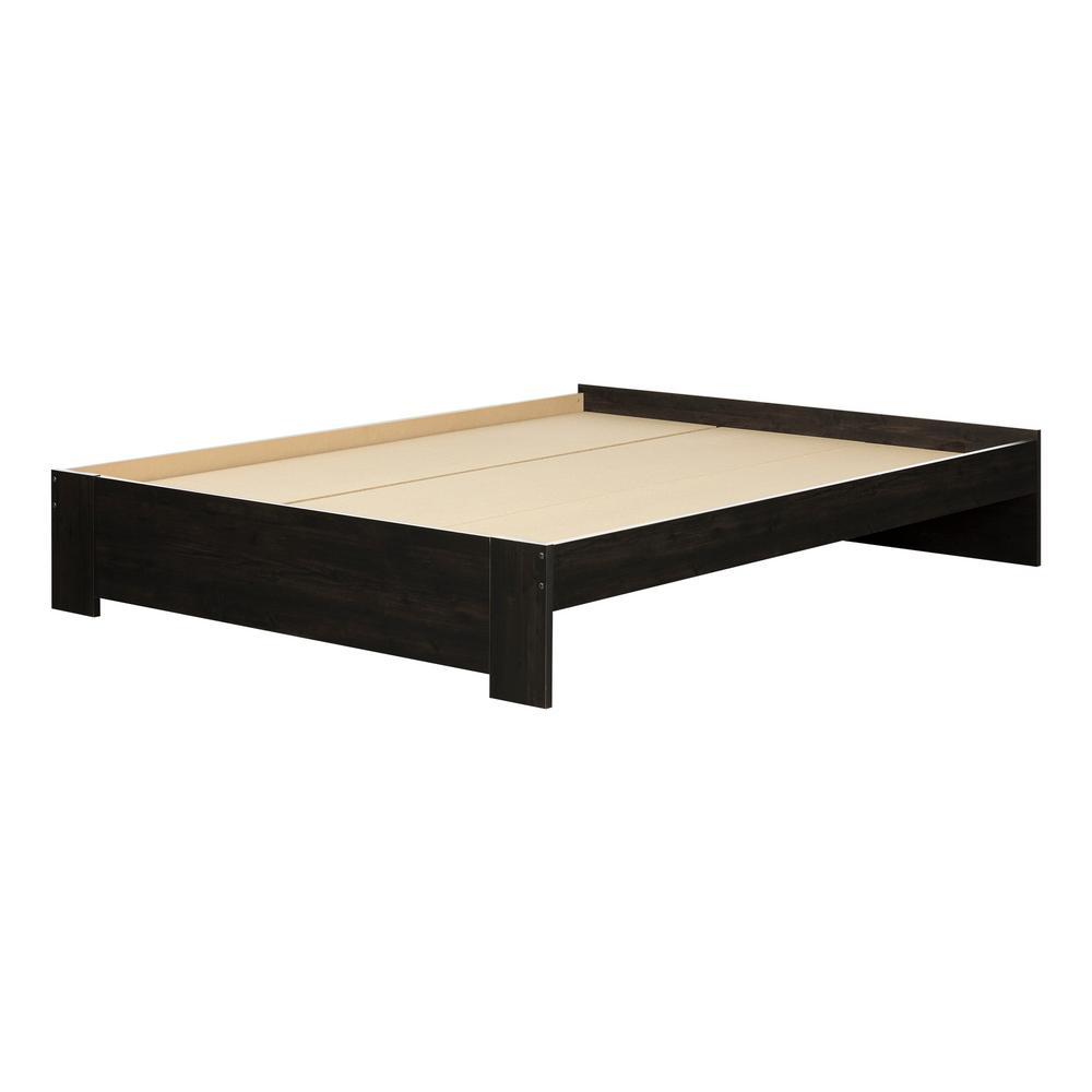 Gravity Ebony Queen Bed