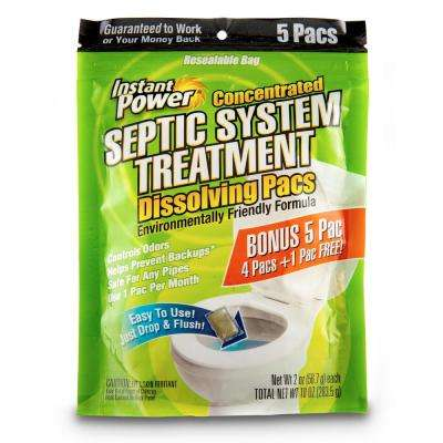 Septic System Treatment Pacs 5 Pacs