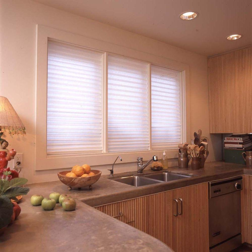 Redi Shade White Paper Light Filtering Window Shade 36 In W X 72