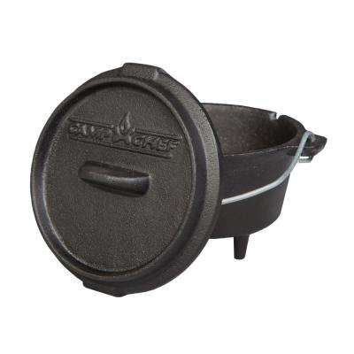 Classic Preseasoned Cast Iron 5 in. Dutch Oven