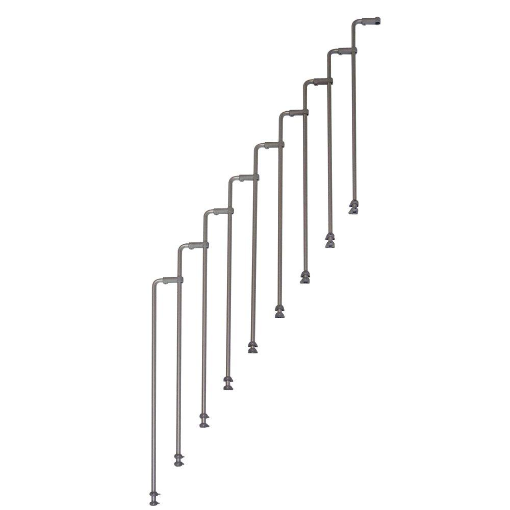 Karina Second Side Rail Kit Grey (9-Pack)