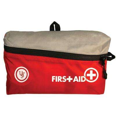 FeatherLite 125-Piece First Aid Kit 2.0, Red