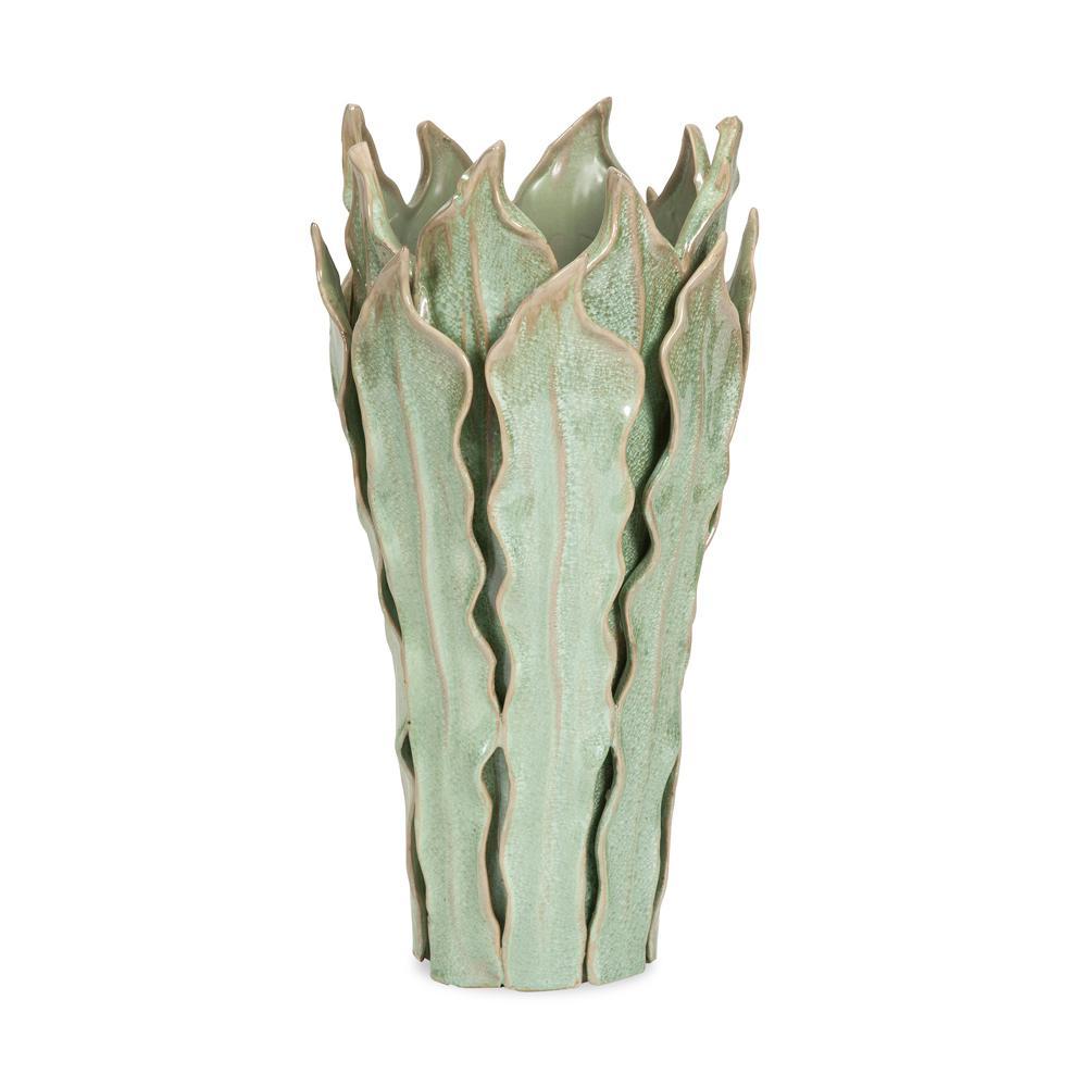 Frederick sage and beige large leaf decorative vase 25251 the frederick sage and beige large leaf decorative vase 25251 the home depot reviewsmspy