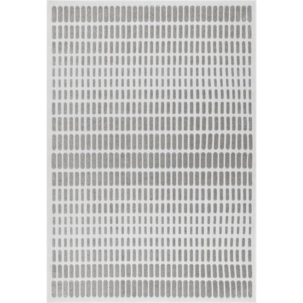 Nuloom Washable Rugs: NuLOOM High-low Jeffie Ivory 5 Ft. X 8 Ft. Area Rug