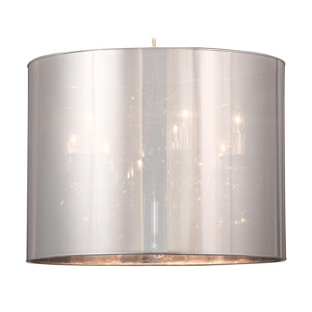 ZUO Quark Chrome Ceiling Lamp