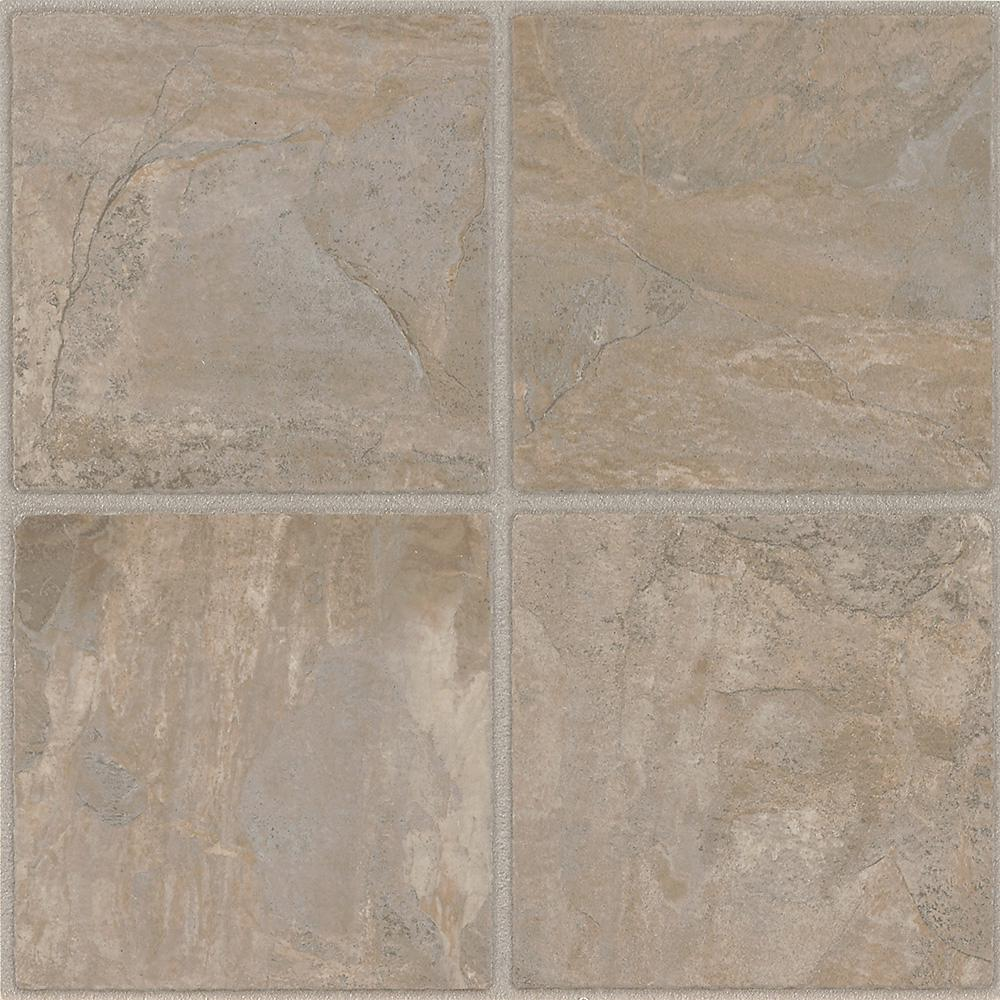 Chiseled Stone Cliffstone 12 in. x 12 in. Residential Peel and