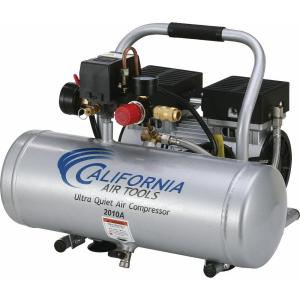 California Air Tools 2.0 Gal. 1.0 HP Ultra Quiet and Oil-Free Aluminum Tank Air... by California Air Tools