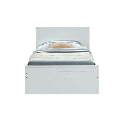 Ragna White Twin Bed