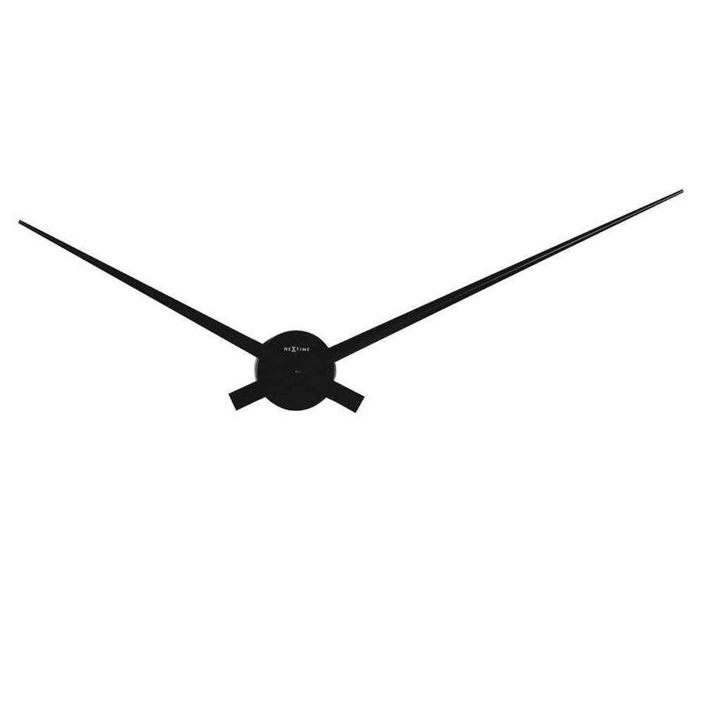 Nextime 17.70 in. Aluminum Wall Clock-DISCONTINUED
