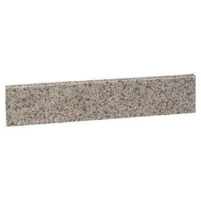 22 in. Universal Granite Sidesplash in Golden Sand