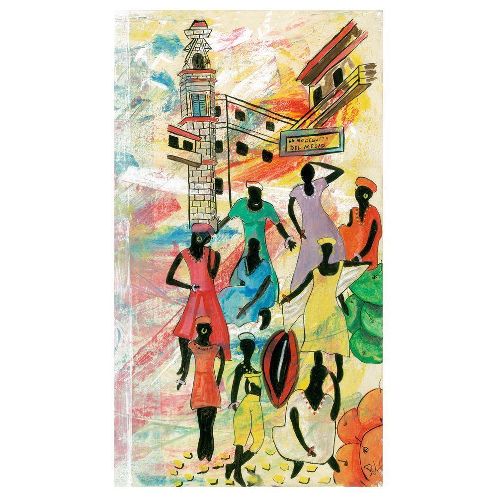 Trademark Fine Art 18 in. x 32 in. La Bodeguita Canvas Art