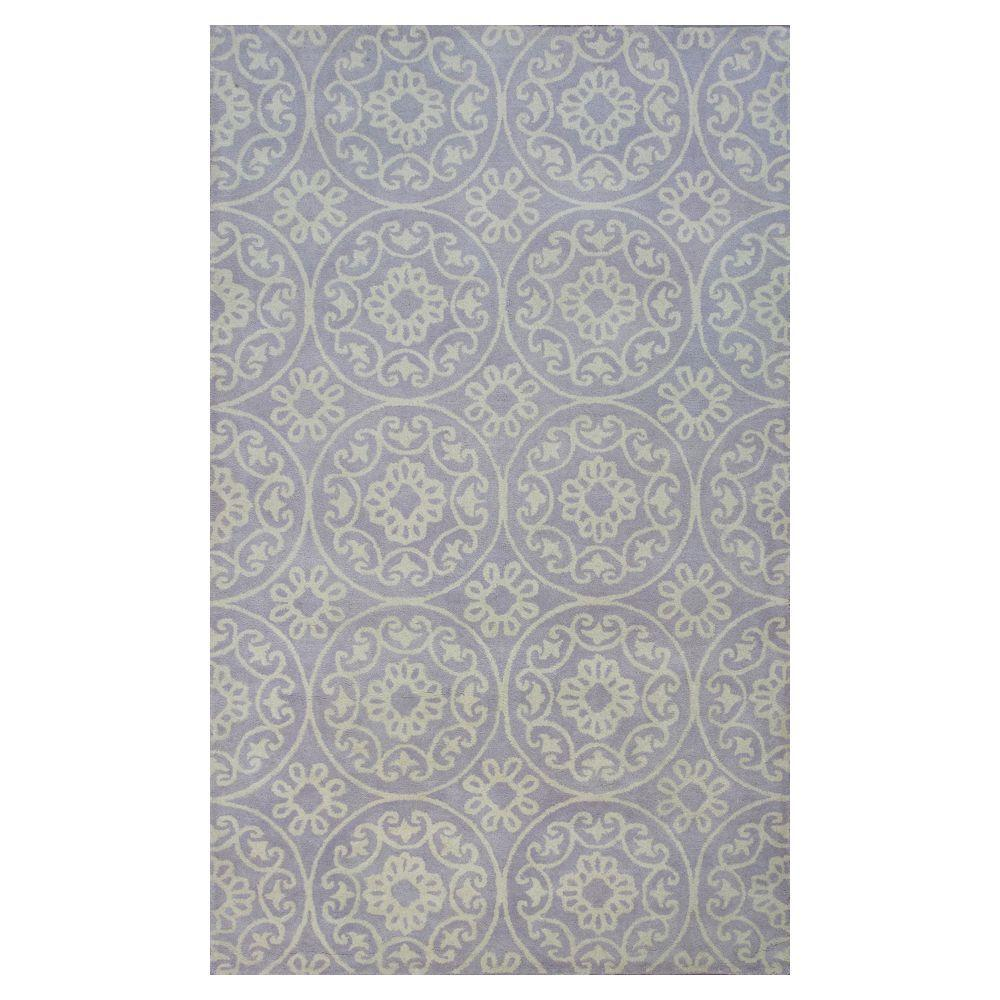Donny Osmond Home Lilac Heritage 3 ft. 3 in. x 5 ft. 3 in. Area Rug