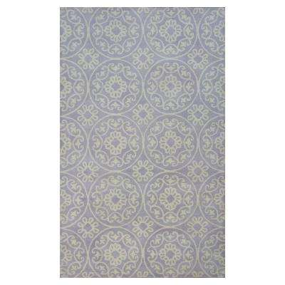 Lilac Heritage 3 ft. 3 in. x 5 ft. 3 in. Area Rug