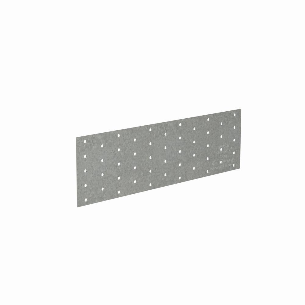 TP 3-1/8 in. x 11 20-Gauge Galvanized Tie Plate
