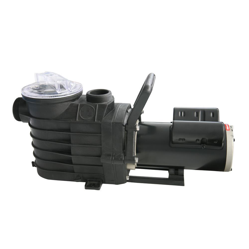 48S 2-Speed, 1 HP In Ground Pool Pump 3100-7600 GPH, 82 ft. Max Head, 230-Volt