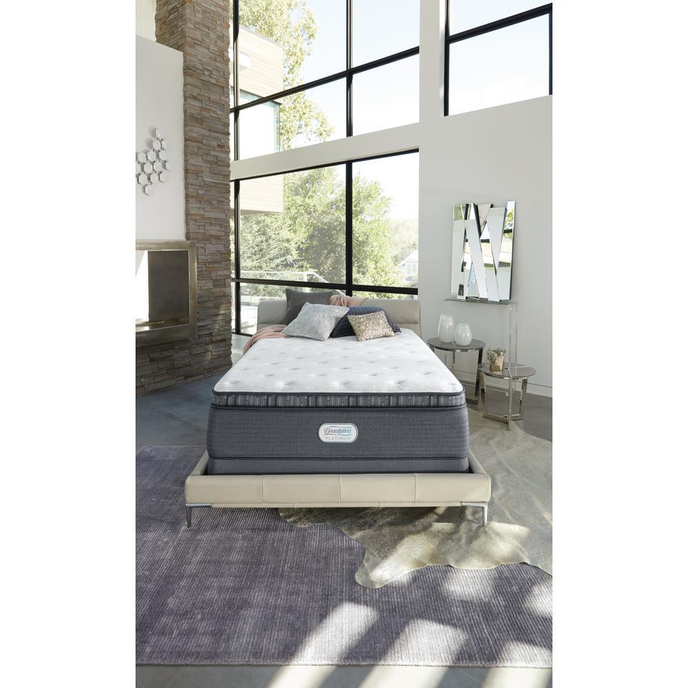 Platinum Spring Grove 15 in. King Luxury Firm Pillow Top Mattress