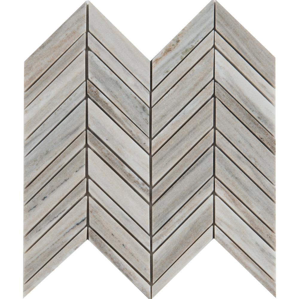 Ms international palisandro chevron 12 in x 12 in x 10 mm ms international palisandro chevron 12 in x 12 in x 10 mm polished marble mesh mounted mosaic tile pali chevron10m the home depot dailygadgetfo Choice Image
