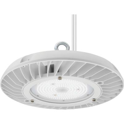 Contractor Select JEBL Series 13 in. 175-Watt Equivalent Integrated LED Dimmable White High Bay Light Fixture, 4000K