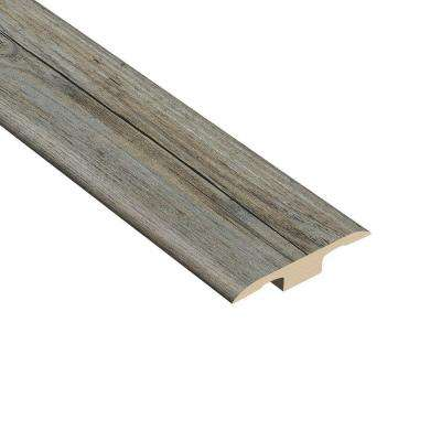 Pine Winterwood 1/4 in. Thick x 1-3/8 in. Wide x 94-1/2 in. Length Vinyl T-Molding