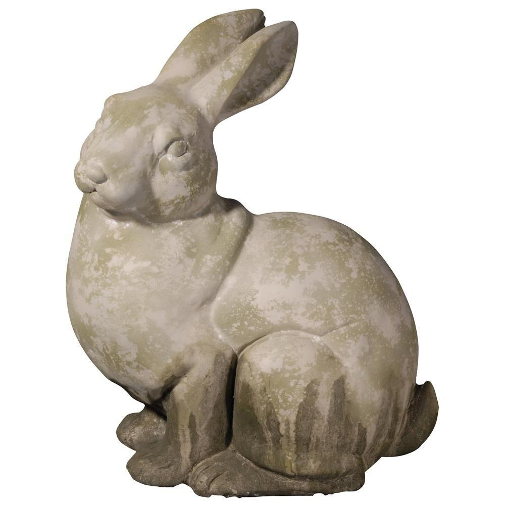 Garden Statues Home Depot: A & B Home 15 In. Clover Watchful Rabbit Accent-D75033