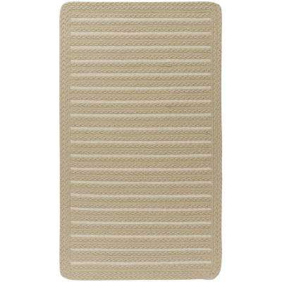 Boathouse Natural 2 ft. x 3 ft. Cross Sewn Area Rug