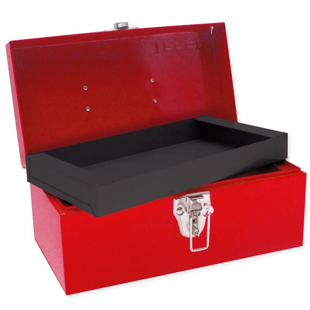URREA Heavy Duty Metal Tool Box - 11 in. X 6 in. X 5 in.