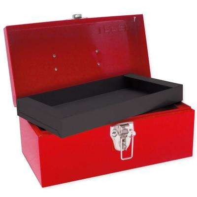 Heavy Duty Metal Tool Box - 11 in. X 6 in. X 5 in.