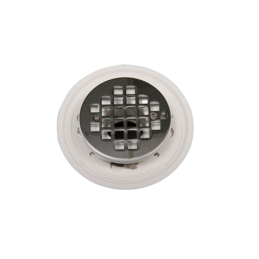 90 Degree Low Profile Shower Drain.Goof Proof Shower Round Shower Drain Rcb Drain The Home Depot