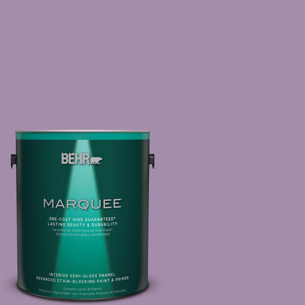 1 gal. #M100-4 Aged to Perfection One-Coat Hide Semi-Gloss Enamel Interior