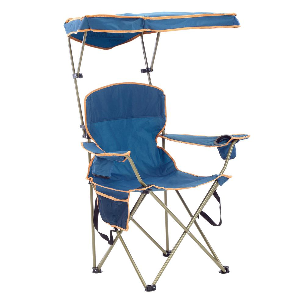 Quik Shade MAX Navy Polyester And Nylon Camp Chair